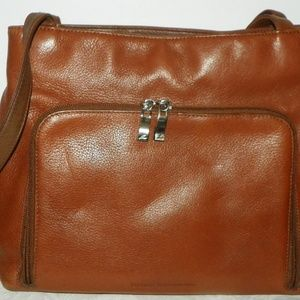 Stone Mountain Brown Leather Purse Bag Satchel